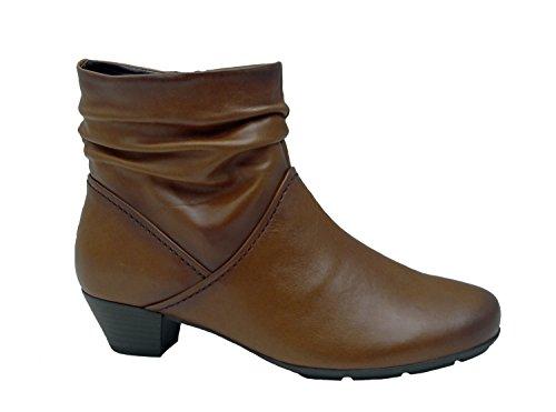 Mesdames Bottes 37,5 38 38,5 37 39 40 40,5 Gabor lambskin brun braun