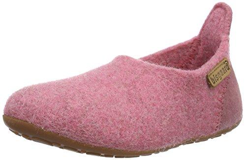 Bisgaard Unisex-Kinder Wool Basic Slipper, Pink (91 Rosa), 36 EU