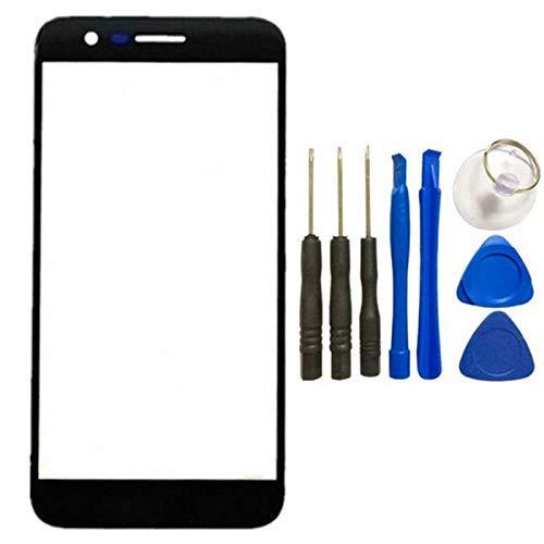 Frontscheibe für LG K10 2017 Touch Screen Sensor Glas Lens Cover Ersatz für LG K10 LTE K420N K430DS M250 mit Werkzeug (Nicht LCD & kein Digitizer) Lg Touch-screen Lcd