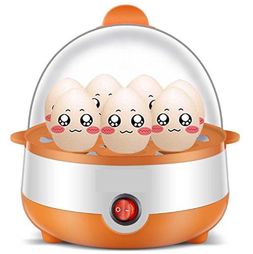 ZXMXY Huevo cocido al Vapor eléctrico Multifuncional 7 Capacidad del Huevo Cocina