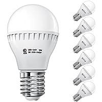 ECD Germany 6 x E27 Lámpara LED 3W 240V aprox. 200 lúmenes sustituye lámpara incandescente 25W blanco frío 6000 K bombilla de ahorro de energía