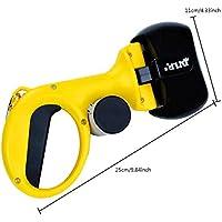 Recogedor Excrementos Perro Plegable con Bolsas De Caca Y Dispensador De Bolsas,Yellow