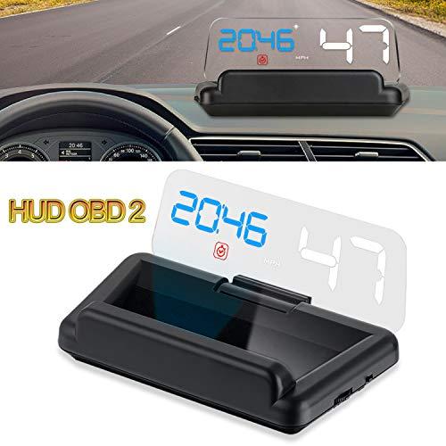 IKiKin Car Head Display Up OBD2 Panel reflexión Sin