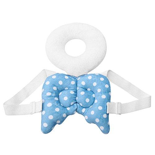 Per Baby Head & Back Protektor Pad Engel Flügel Sicherheit Pads Kissen mit verstellbare Träger Schutz für Infant Kleinkind Learn To Walk und Sit