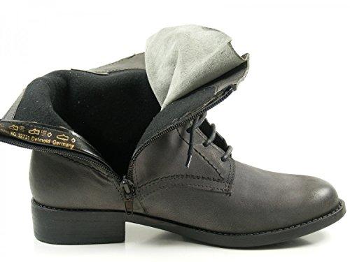 Tamaris Damen 25111 Chukka Boots Grau (Anthracite)