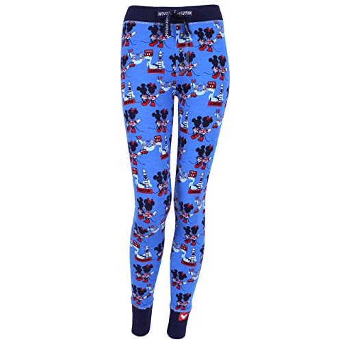 Minnie mouse mickey disney pantaloni blu