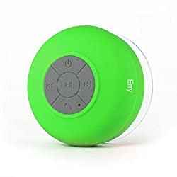 Erry bluetooth waterproof shower speaker- Green