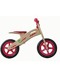 MASH FORM Bicicleta First Bike Rojo/Madera