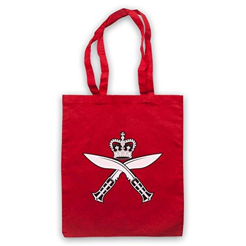 Gurkha Regimental Insignia Badge Logo Umhangetaschen Rot