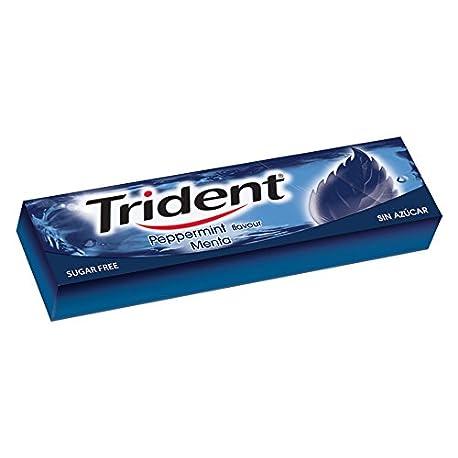 Trident Fresh Menta L mina Chicles 14 gr