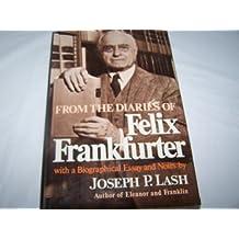 Lash from Diaries of F Frankfurter
