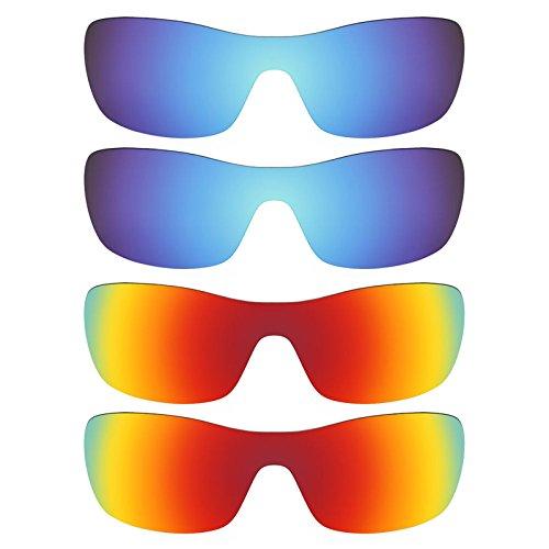Revant Ersatzlinsen für Oakley Antix Polarisiert 4 Paar Kombipack K022