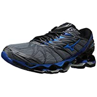 Mizuno Men's Wave Prophecy 7 Running Shoes, trade winds/black, 9 D US