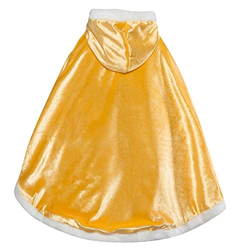 dchen Prinzessin Cosplay Kostüme Fancy Schmetterling Kleid (110, PJ-Yellow) ()