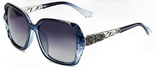 Marcus R Caveggf Sonnenbrille Weiblich Gehoben Polarisiert UV 400 Schutz Reise draussen Harz Sonnenblende, 002