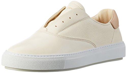 Marc O'Polo - 70114053501102 Sneaker, Scarpe da ginnastica Donna Bianco (Offwhite)