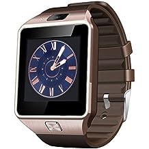 SalesLa DZ09 Bluetooth inteligente reloj reloj tel¨¦fono m¨®vil con ranura para tarjeta SIM GSM y c¨¢mara para Android iOS Tel¨¦fono