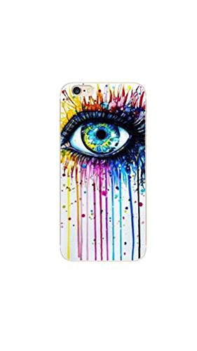 ELECTROPRIME® Painting Eye Pattern Soft Phone Case Back Cover for iphone6plus/6Splus