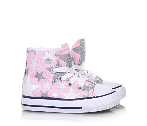 CONVERSE 356838C CT HI WHITE SNEAKERS fille Rose
