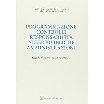 Programmazione Controlli Responsabilità Nelle Pubbliche Amministrazioni