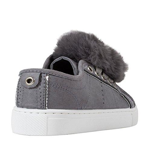 Little Diva , Mädchen Sneaker Grau