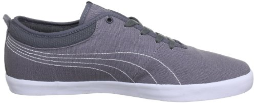 Puma Elsu Canvas, Low-top homme Gris - Grau (steel gray-new navy-white 01)