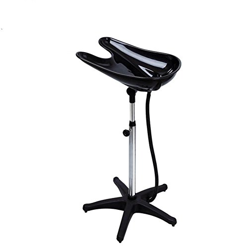 Shampoo Sink Adjustable Washing Shampoo Bowl Basin Hair Bowl Portable Chair for Salon Treatment With Drain Tube Hairdressing Tool