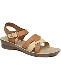 PARAGON SOLEA Women's Tan Sandals