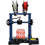 GEEETECH A10M 3D Printer with Mix-color printing, Dual extruder design, Filament detector and Break-resuming function, Prusa I3 quick assembly DIY kit.