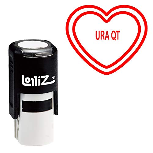 LolliZ Conversation Heart Series - URA QT Self-Inking Rubber Stamp -