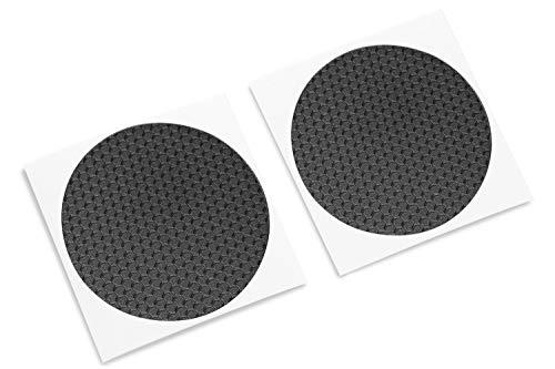 Hex Mini (TouchProtect Mini-Hex - Verbessert taktiles Gefühl, verleiht Stil und schützt Ihre Trackpads. für Dampfreiniger und Vive Controller. HEX Textur, klein, Schwarz schwarz)