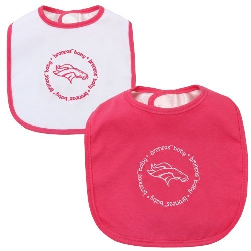 Baby Fanatic Bibs Pink, Denver Broncos by My Sports Shop