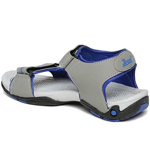 634d2bd63cc1 Paragon Men Blue-Grey Sports Sandal Slipper