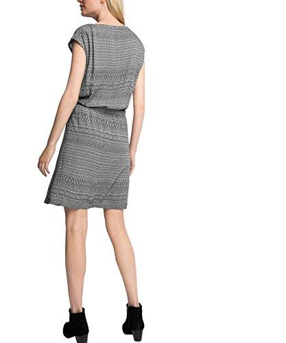 ESPRIT Damen Kleid Schwarz (Black 001)