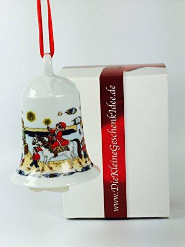 Hutschenreuther Porzellan Weihnachtsglocke 1999 in neutraler Geschenkverpackung NEU 1.Wahl