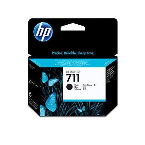HP Inkjet-Patrone Designjet T120/T520, Inhalt 80ml, PG=1, Nr. 711, schwarz (Hp Designjet 120)