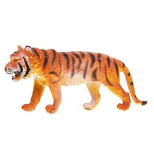 6 Stück Kunststoff Wild Tiere Spielzeug Modell - 8