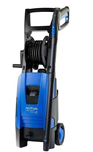 Nilfisk C-PG 130.2 X-TRA Vertical Eléctrico 520, 350l/h 1800W Negro, Azul Limpiadora de alta presión o Hidrolimpiadora - Limpiador de alta presión (Vertical, Eléctrico, 8 m, 5 m, Negro, Azul, Aluminio)