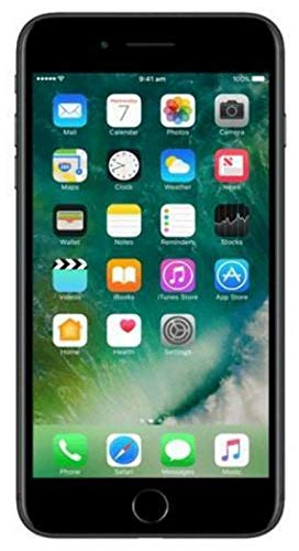 Apple iPhone 7 Plus Smartphone Libre Negro 128GB (Reacondicionado)