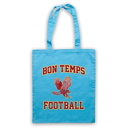 Inspiriert durch True Blood Bon Temps Football Inoffiziell Umhangetaschen Hellblau