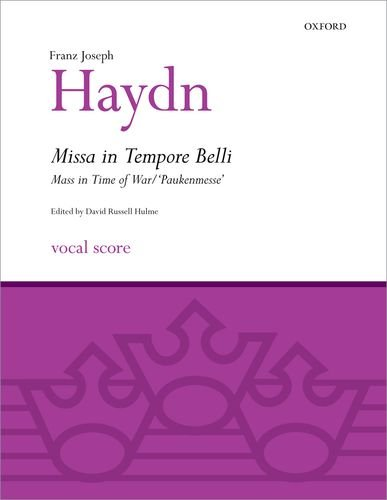 Missa in Tempore Belli (Mass in Time of War/Paukenmesse)