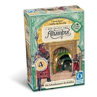 Preisvergleich Produktbild Queen Games 6033 - Der Palast von Alhambra - 4. Erweiterung: Die Schatzkammer des Kalifen