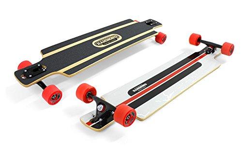 Hammond Longboard B-40 Twin Tip Drop Through Skateboard -