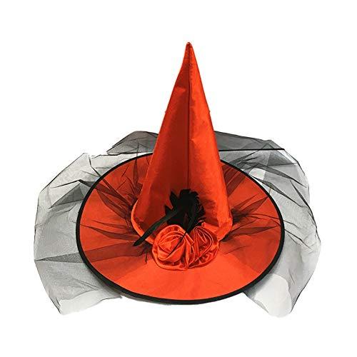 Hut-Partei-Kostüm-Rosa Kult Dekoration Hexenhut Cospaly Kostüme Prop (rot) ()