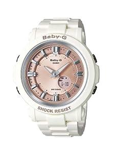 Casio Baby-G BGA-300-7A2ER - Reloj analógico - digital de cuarzo para mujer, correa de resina color blanco crema de Casio