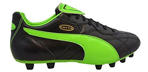 FG, Größe:9, Farbe:Puma Black-Green Gecko-Gold (Puma Schuhe Größe 9)