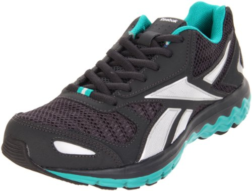 Reebok Fuel Extreme Femmes Synthétique Chaussure de Course Black-Totally Teal-Silver