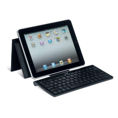 Genius LuxePad 9100 Wireless ultradünnen Bluetooth Tastatur für Tablet schwarz 9100 Bluetooth