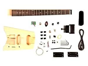 stellah kit guitare 233 lectrique de voyage sans t 234 te 224 monter soi m 234 me fr instruments de