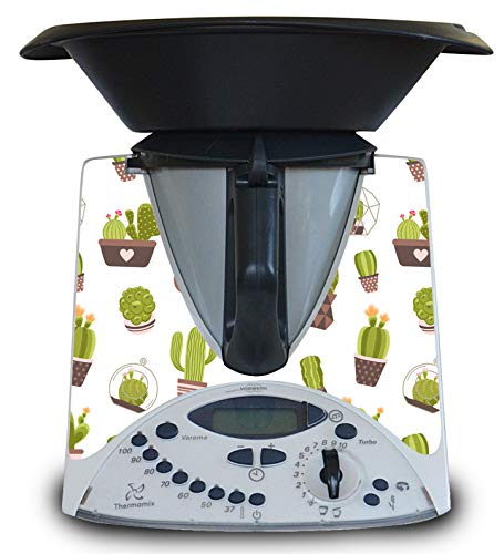 Vinilo para Thermomix TM31 de Juguete (niños) Modelo Cactus
